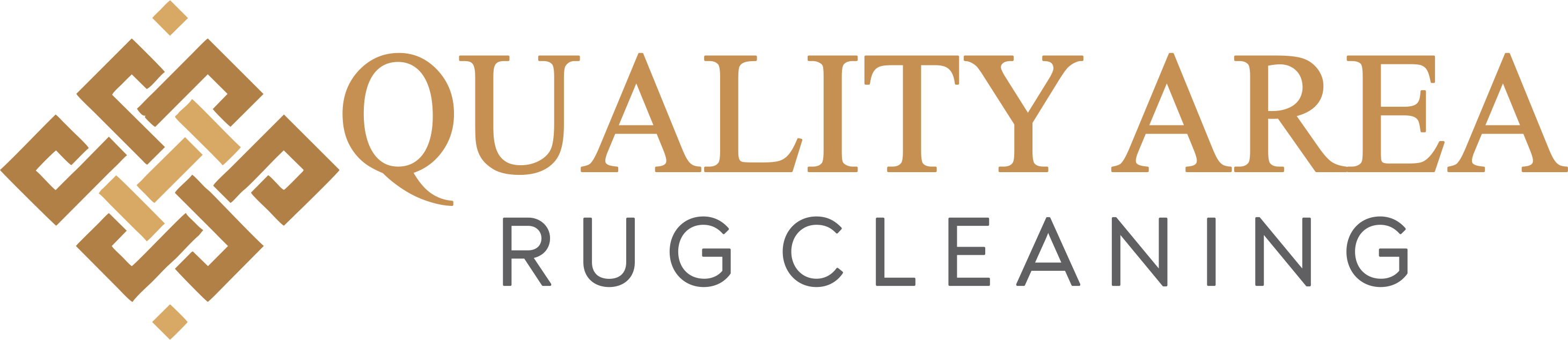 Quality Area Rug Cleaning Logo
